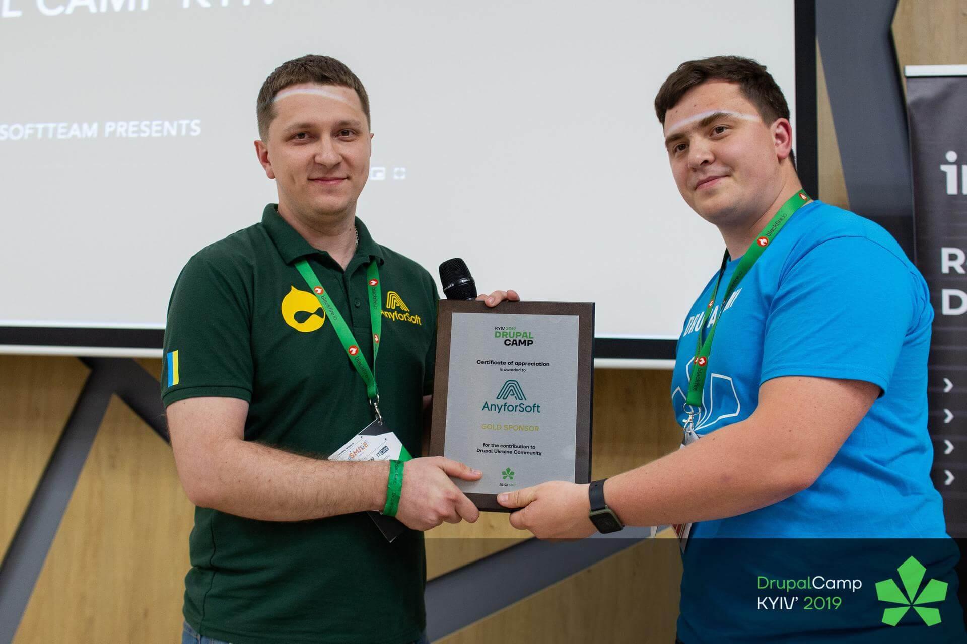 AnyforSoft CEO award