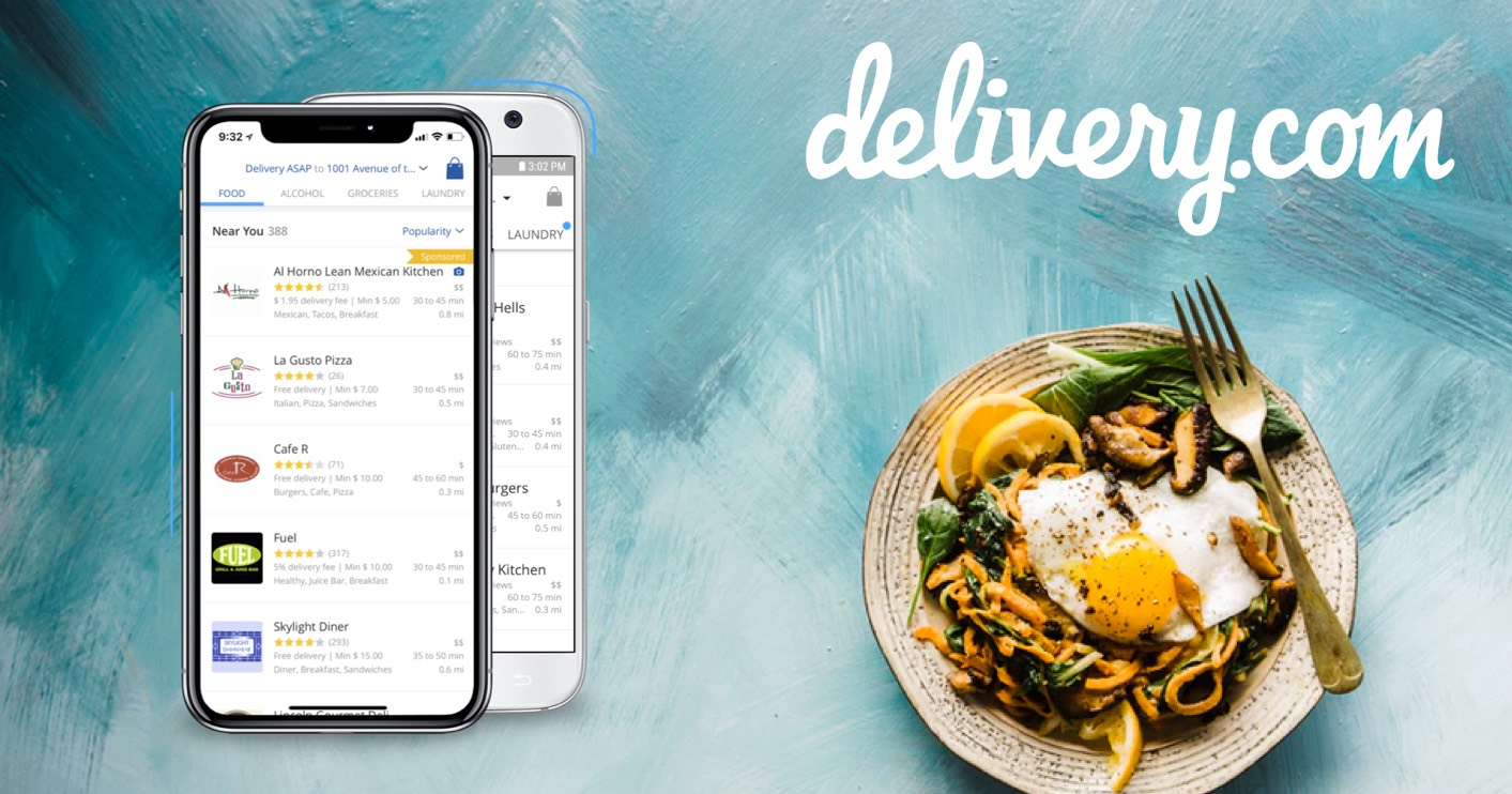 delivery.com react native