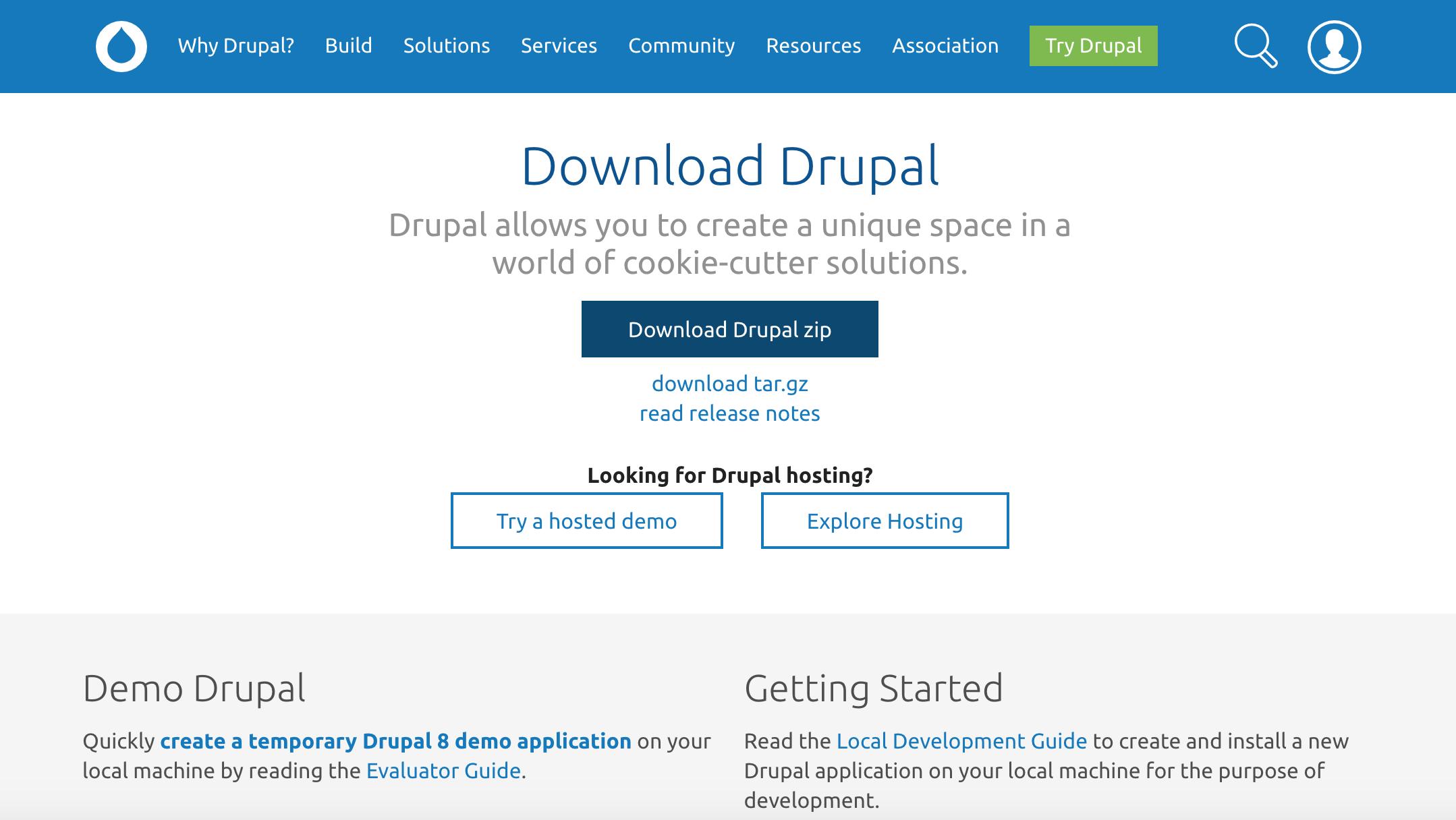 download drupal