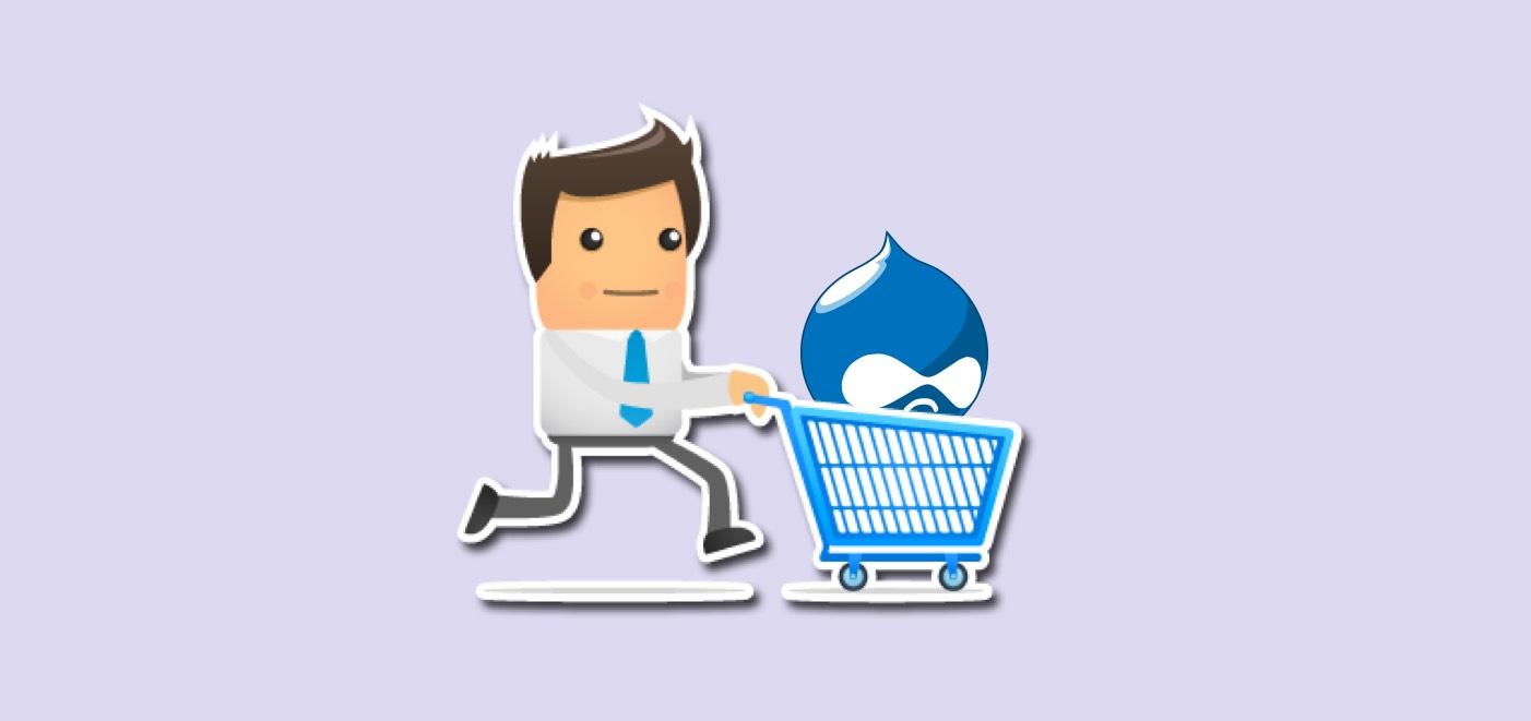 drupal ecommerce website