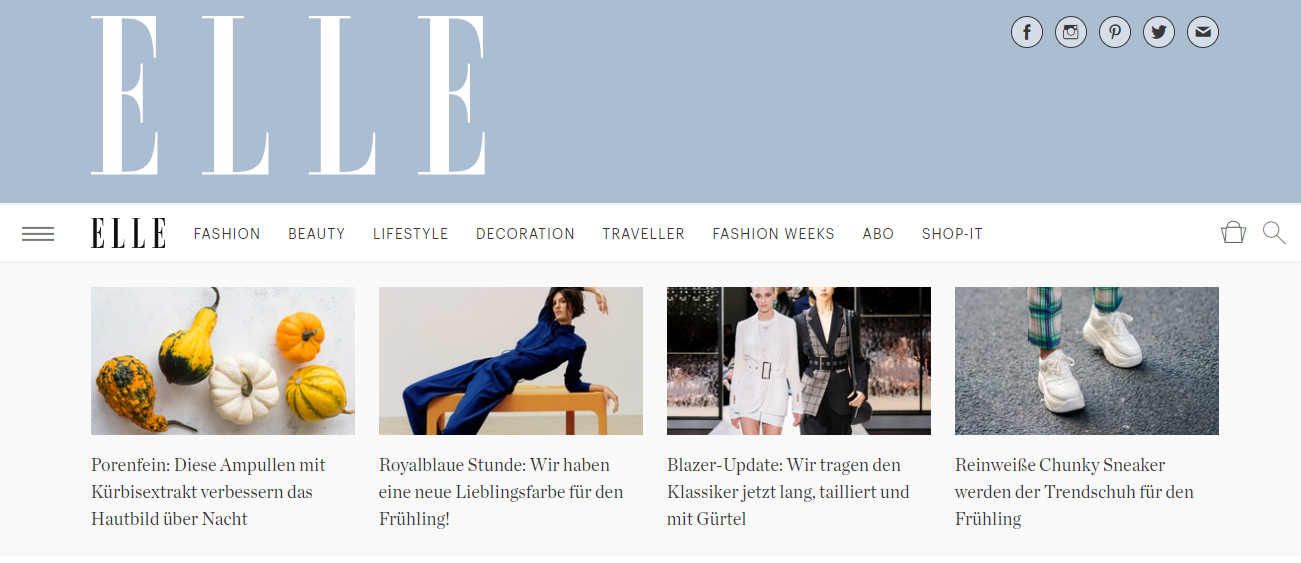 elle website