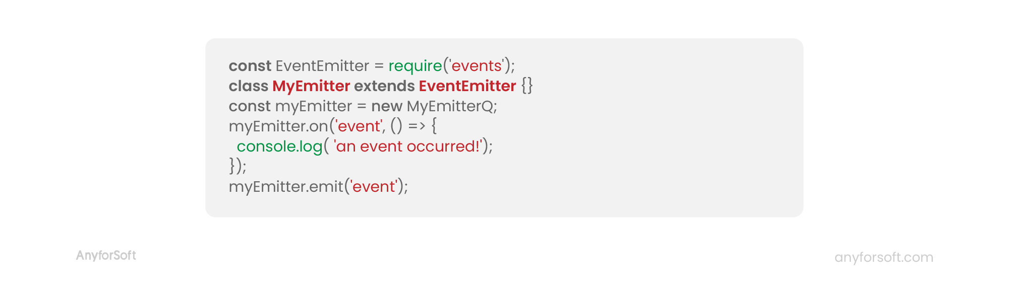 event emitter node js code example