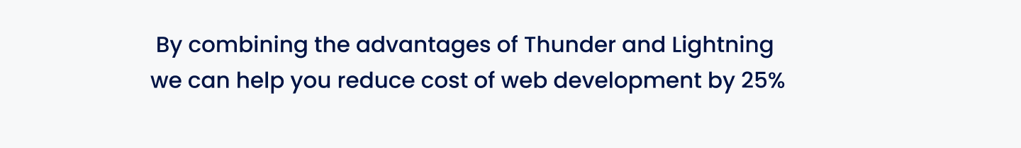 Thunder and Lightening for Media and Publishing