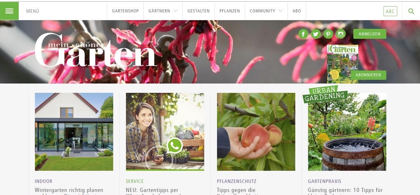 garten website