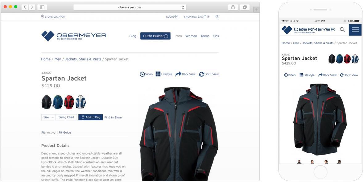 Obermeyer website
