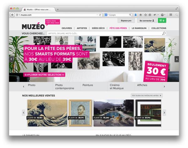 Muzeo website