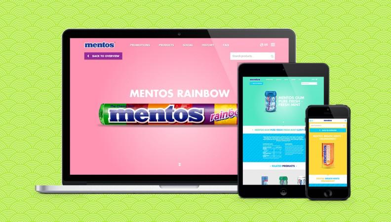 Mentos website