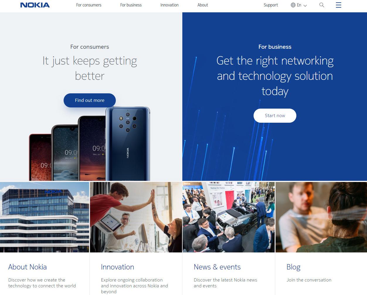 nokia website